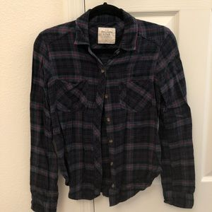 Abercrombie & Fitch flannel ❤️